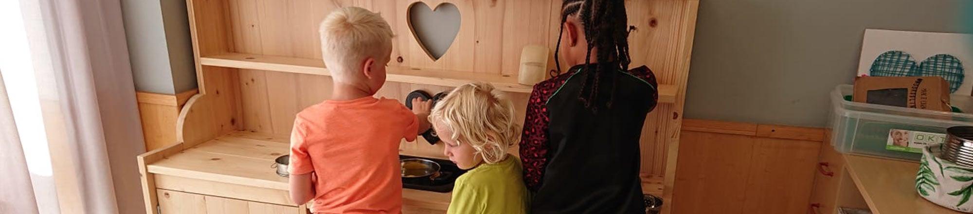 Speelkeuken peuterspeel- en leergroep Koraaleiland