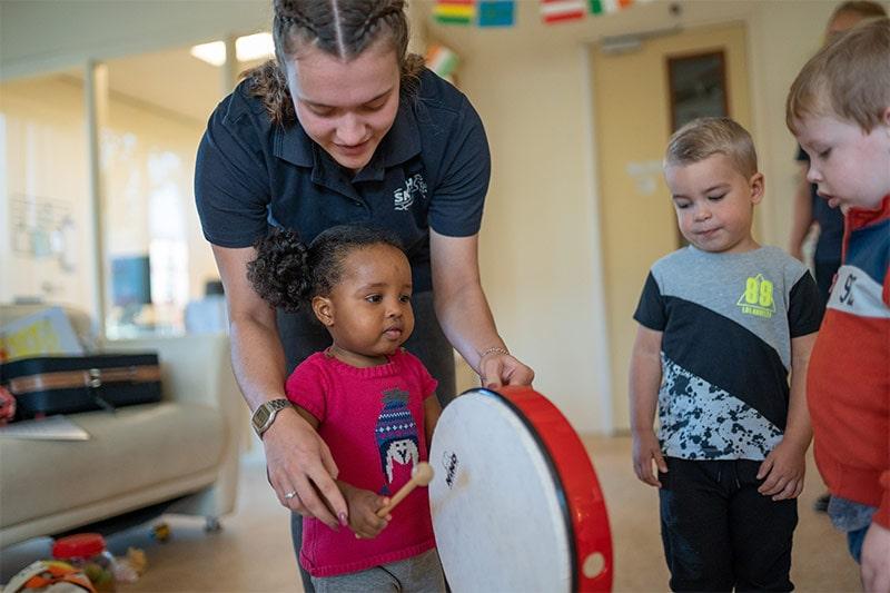 Muziekbeleving op het kinderdagverblijf