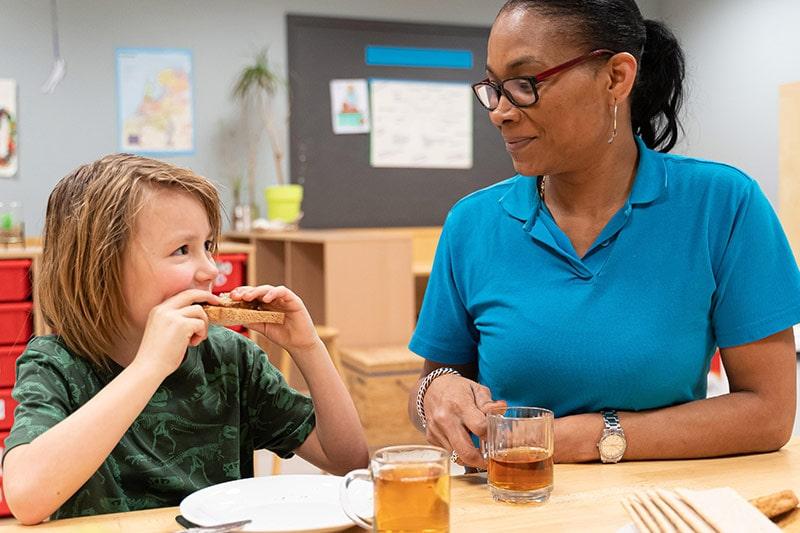 Buitenschoolse opvang (4-12 jaar) voorschoolse opvang