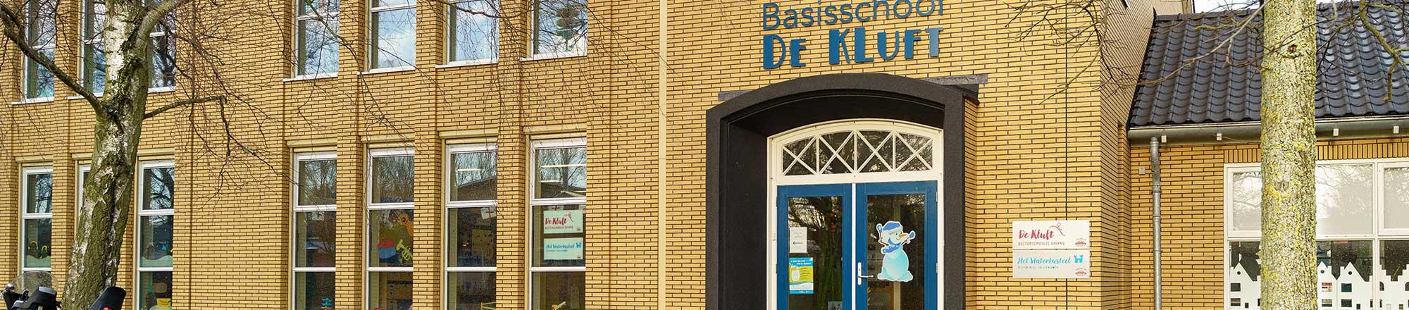 BSO de Kluft gebouw basisschool De Kluft