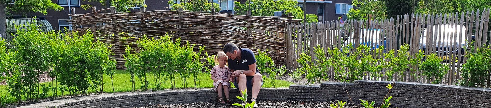 Tuin kinderdagverblijf de Tuimelaars